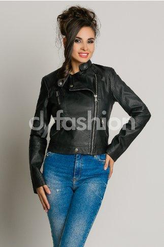 Jacheta Neagra Casual Eleganta