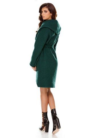 Jacheta Pauline verde casual eleganta