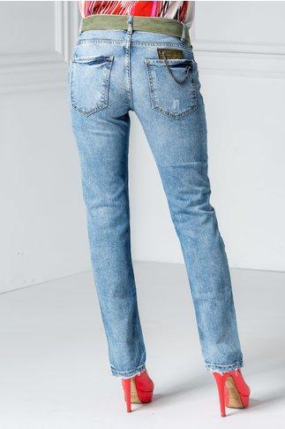 Jeans Diana albastri casual