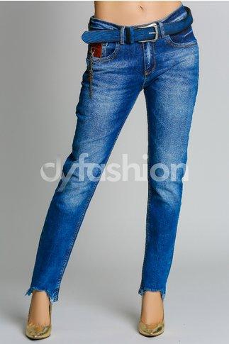 Jeans Sabah Albastri Casual de Zi