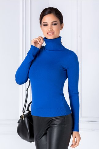 Maleta Elly  albastra casual
