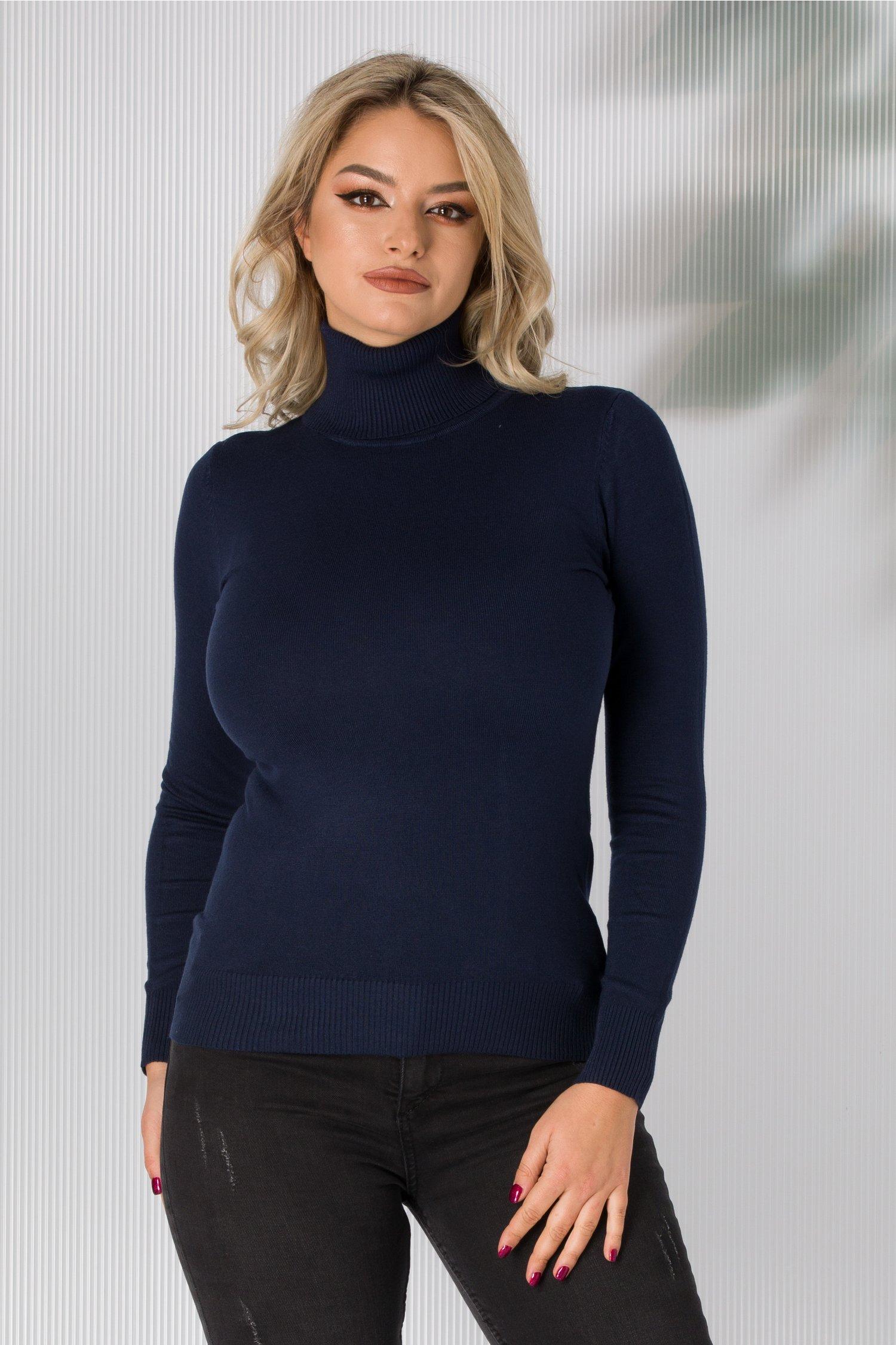Maleta Elly bleumarin casual