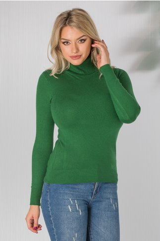 Maleta Elly verde inchis casual
