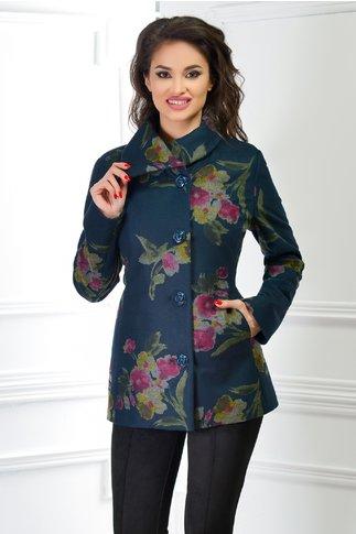 Palton Dama de Ocazie cu Imprimeuri