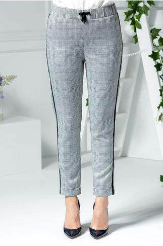 Pantalon Aisha office cu carouri