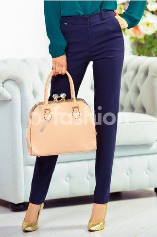 Pantalon Bonnie Office Bleumarin