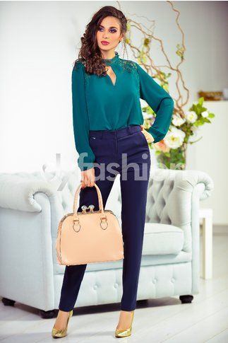 Pantalon Bonnie Office Bleumarin