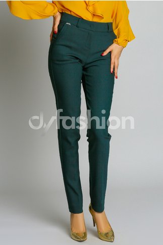 Pantalon Bonnie Verde Office Elegant