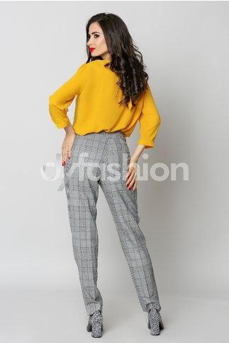 Pantalon Claris Gri Office Elegant