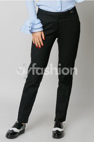 Pantalon Fernanda Negru Office Elegant