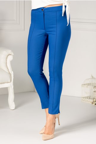 Pantalon LaDonna albastru office