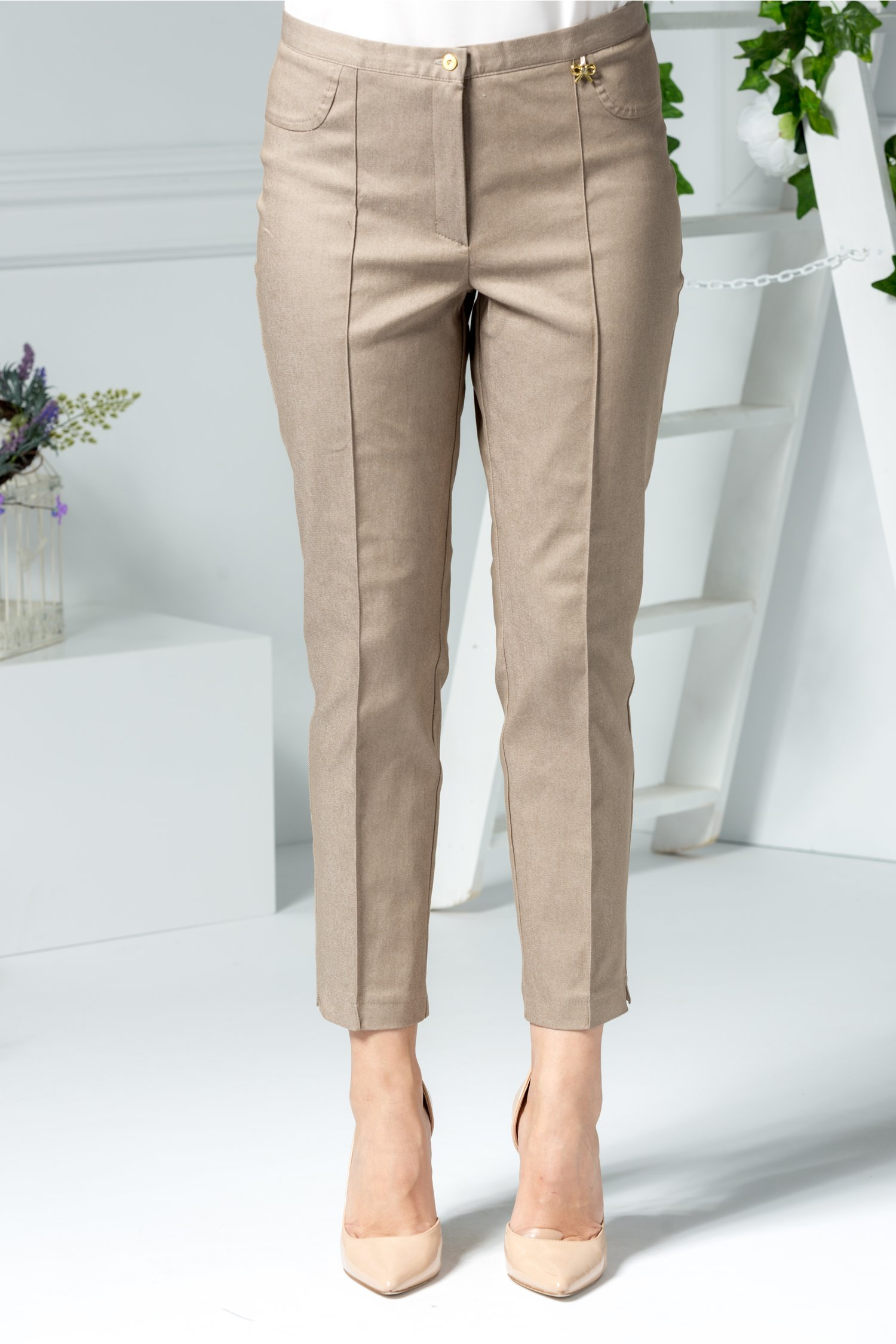 Pantalon Maia office bej