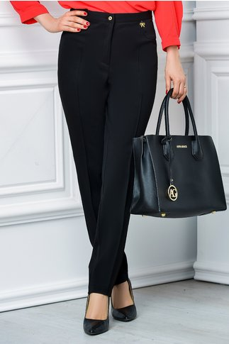 Pantalon negru office elegant