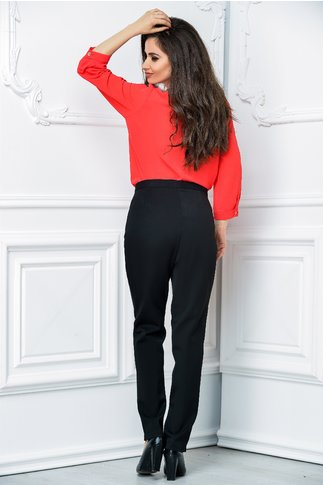 Pantalon negru office elegant