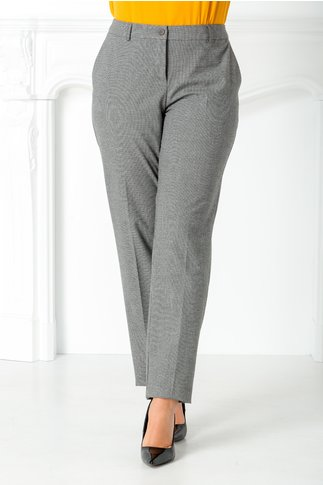 Pantalon Talida gri office