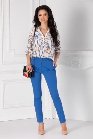 Pantaloni albastri Amelia office