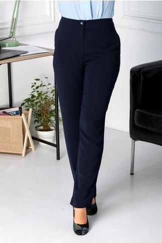 Pantaloni Ginette bleumarin office