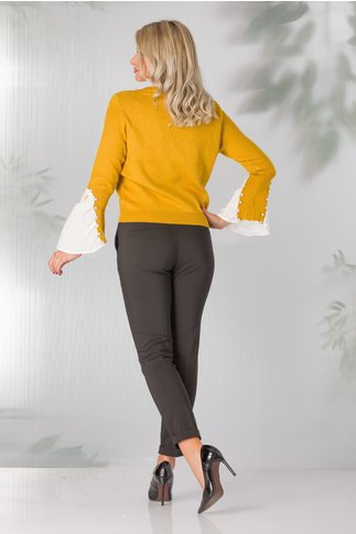 Pantaloni Glory negri office