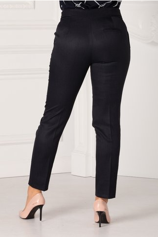 Pantaloni Irene negri conici