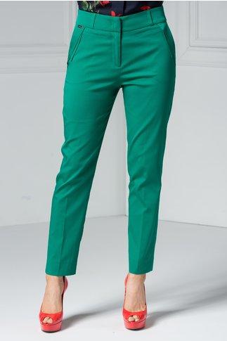 Pantaloni Kami verzi office eleganti