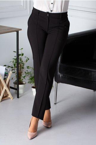 Pantaloni LaDonna office negri cu dunga