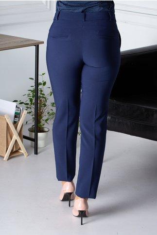 Pantaloni LaDonna office bleumarin cu dunga