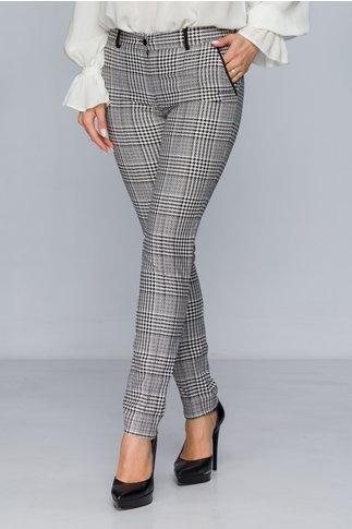 Pantaloni LaDonna office cu carouri