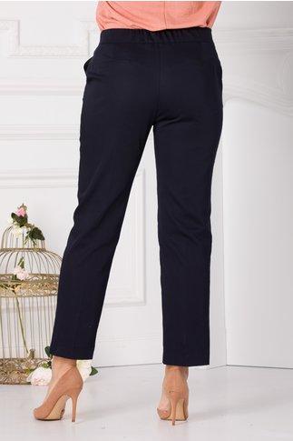 Pantaloni Lety bleumarin smart casual