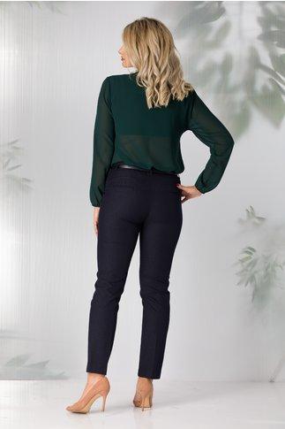 Pantaloni Loredana bleumarin office