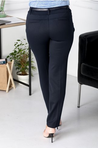 Pantaloni Lynette bleumarin office