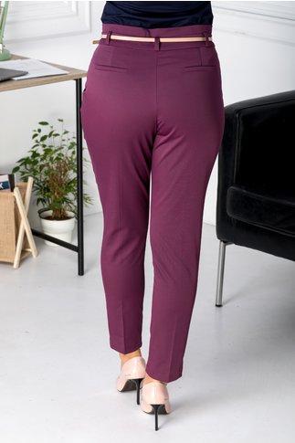 Pantaloni Malina visiniu office