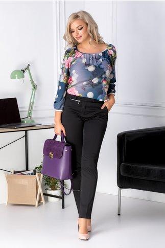 Pantaloni Mona negri office