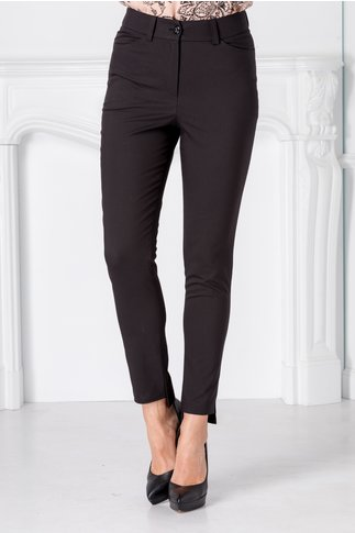 Pantaloni Moze office negri slim
