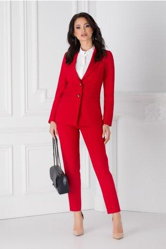 Pantaloni Moze rosii office