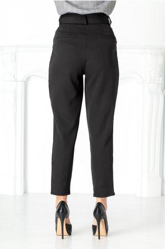 Pantaloni negri office lejeri
