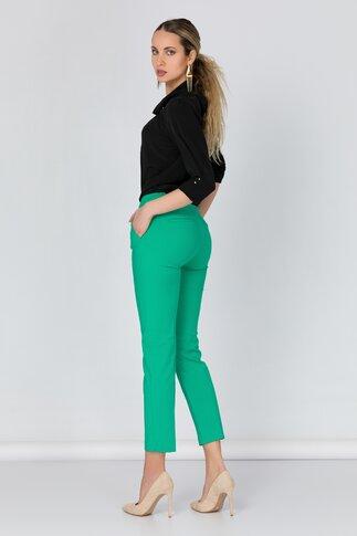 Pantaloni Netalia verzi office