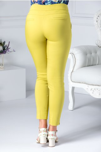 Pantaloni Nicola vernil casual