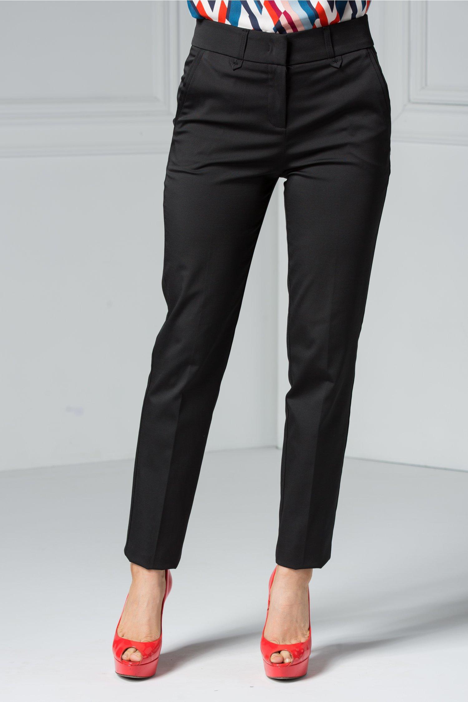Pantaloni Ofelia negri office