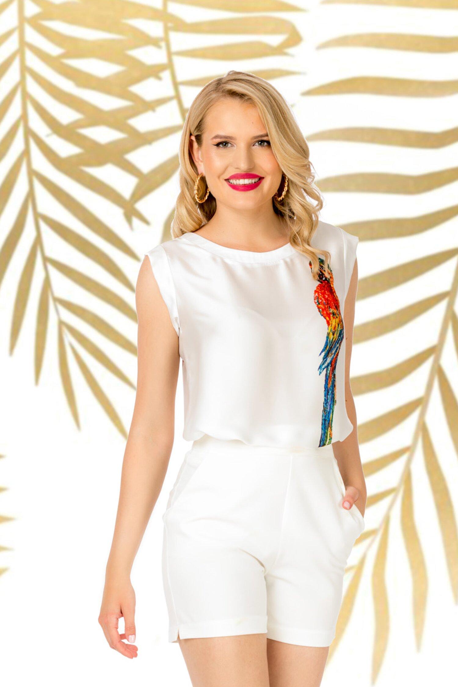 Pantaloni Pretty Girl albi