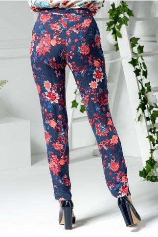 Pantaloni Rosie de vara inflorati