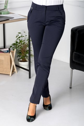 Pantaloni Tatiana bleumarin office