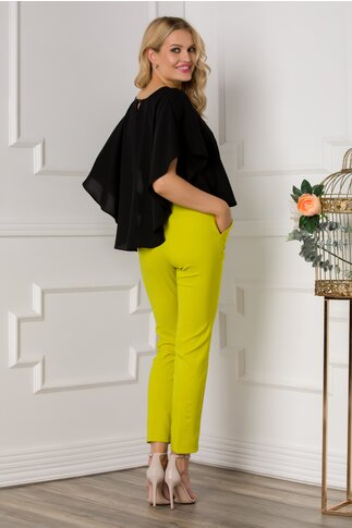 Pantaloni Zaccia verde lime