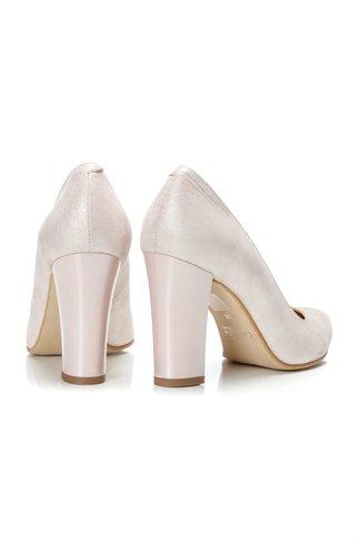 Pantofi Ceren somon sidef de ocazie