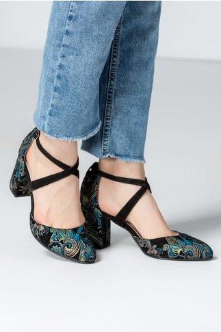 Pantofi Dada azuriu de ocazie