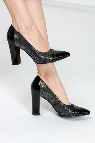 Pantofi Derya negru de ocazie