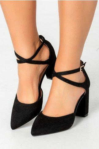 Pantofi Ezzi negri