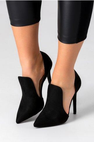 Pantofi Lexxie negri stiletto