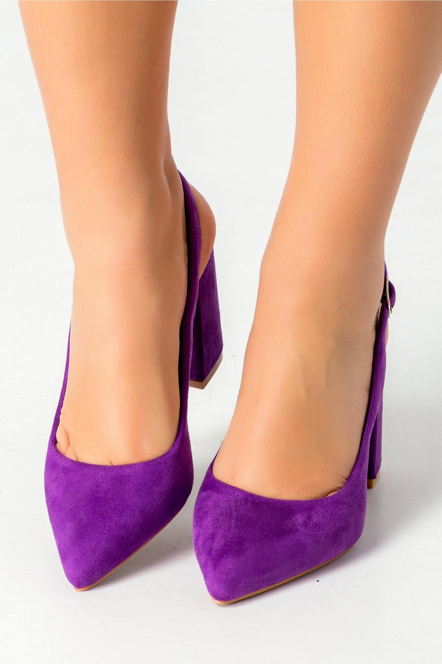 Pantofi Vame mov