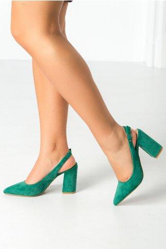Pantofi Vame verzi
