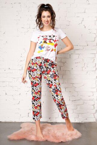 Pijama Best Friends cu imprimeu Disney